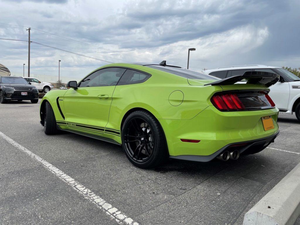 2020 Shelby mustang gt350 prime xr plus ceramic coating ultimate plus